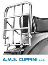 Lambretta /& vespa Cuppini Chrome Short Backrest